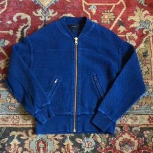 Jcrew quilted bomber jacket
